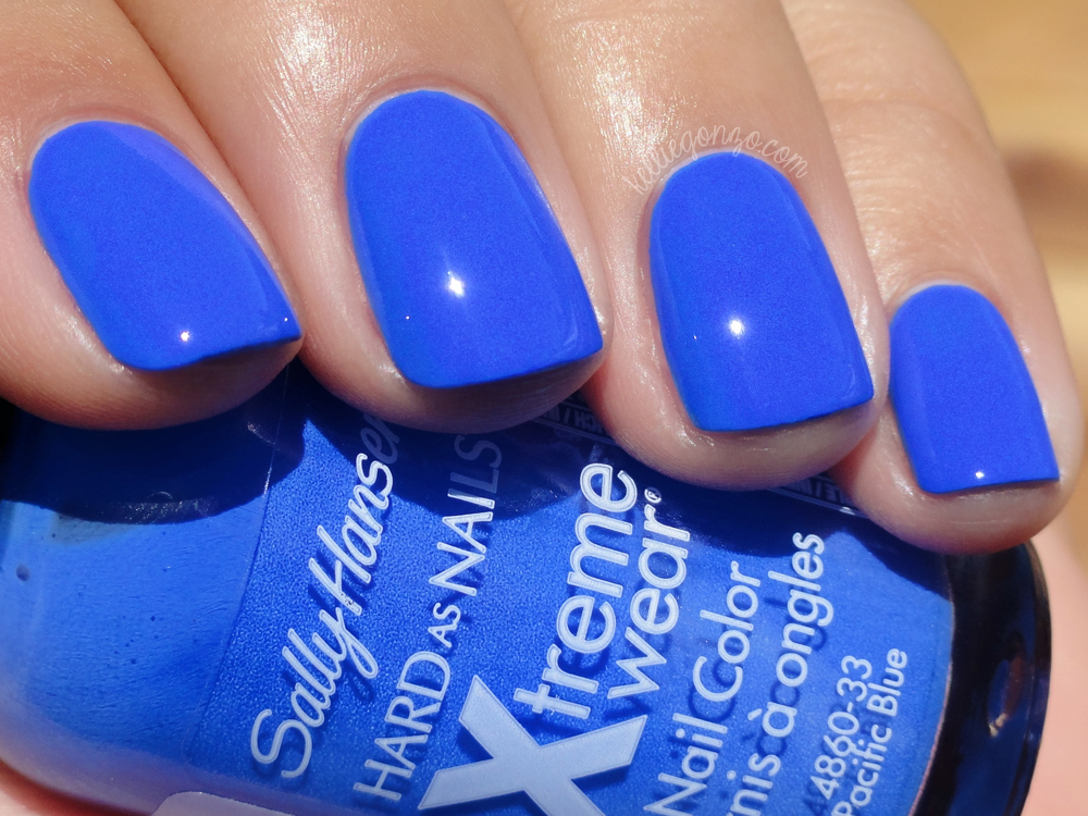 Sally Hansen Pacific Blue original