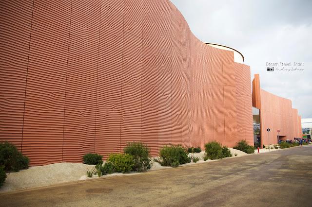 Exposition universelle Milano expo 2015 Pavillon Emirats Arabes Unis