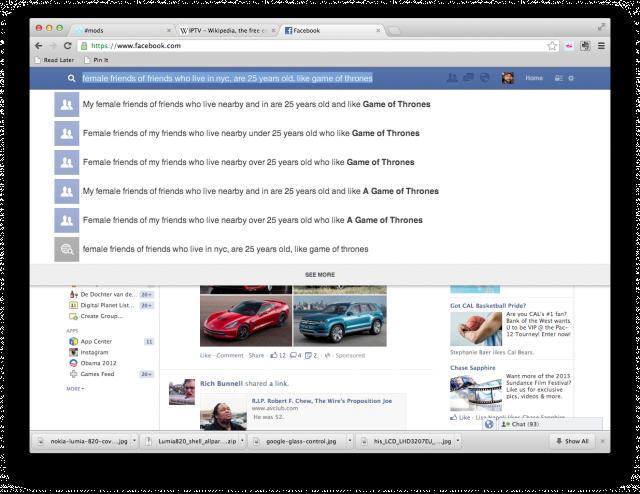 Facebook - Busca de Postagens Antigas Serão Possíveis