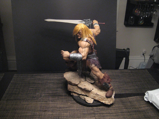 Maneirissima escultura do He-Man 2