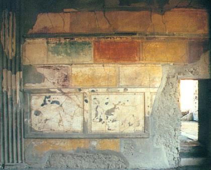 Mf d cors pittura pompeiana nascita della pittura for Case del ranch di stile della prateria
