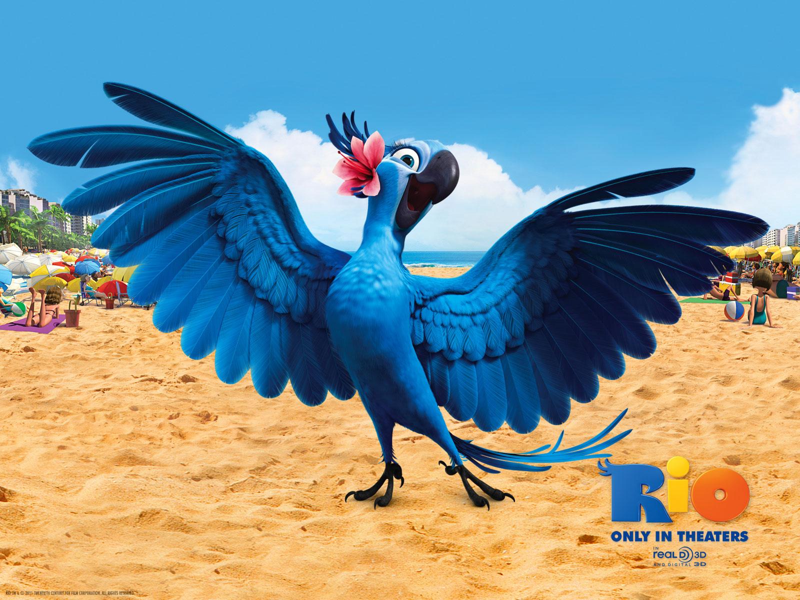 WallpapersKu: Rio (Angry Bird) Movie Wallpapers