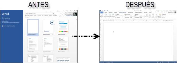 Desactiva la pantalla de inicio de Office 2013