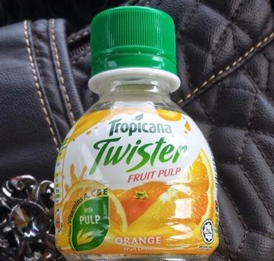 Tropicana Twister perisa oren, harga Tropicana Twister, khasiat Tropicana Twister , kebaikan Tropicana Twister