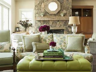 Desain Ruang Tamu Dengan Warna Menarik