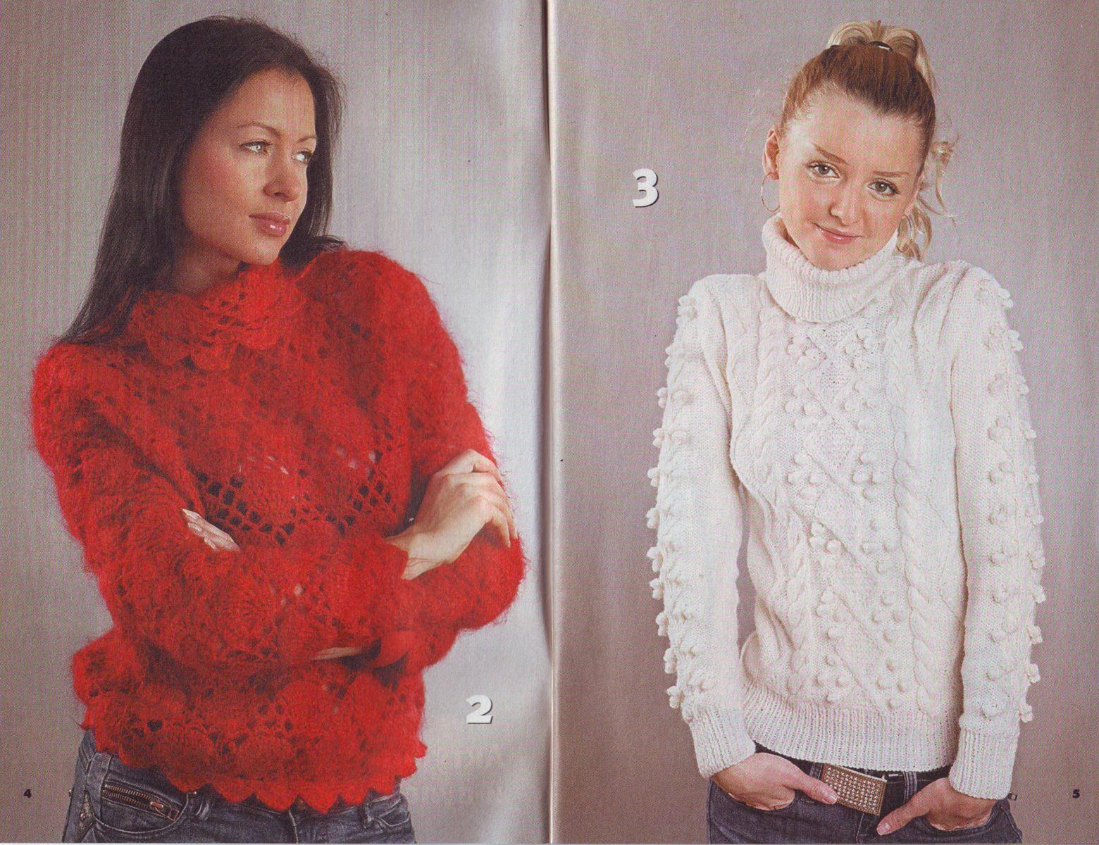 Вязание спицах модели 2011