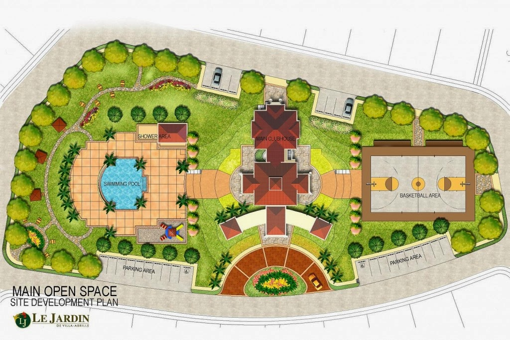 Le Jardin de Villa Abrille - Ma-a, Davao City Open Space Site Dev't Plan