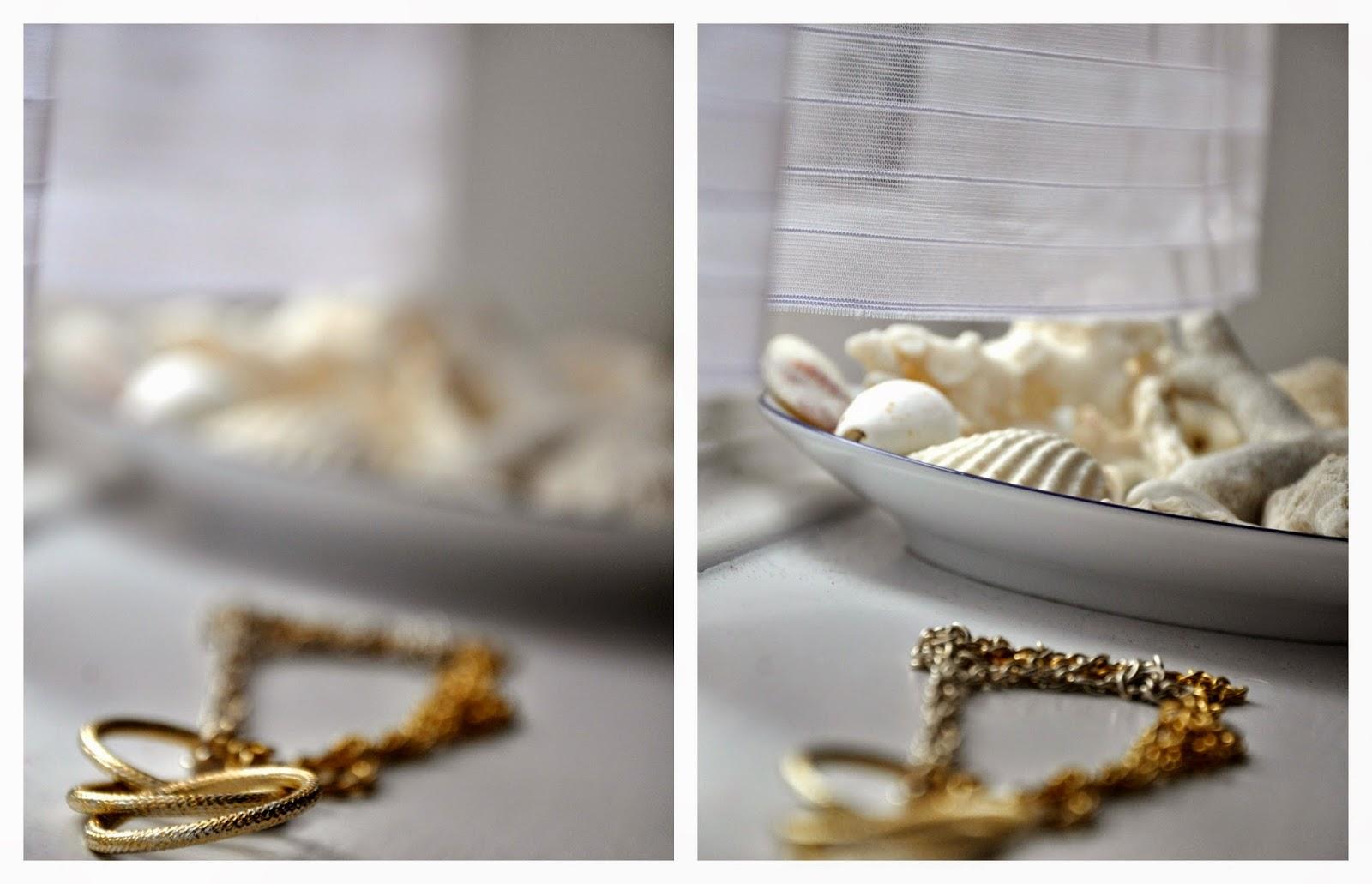 złoto-srebrny naszyjnik