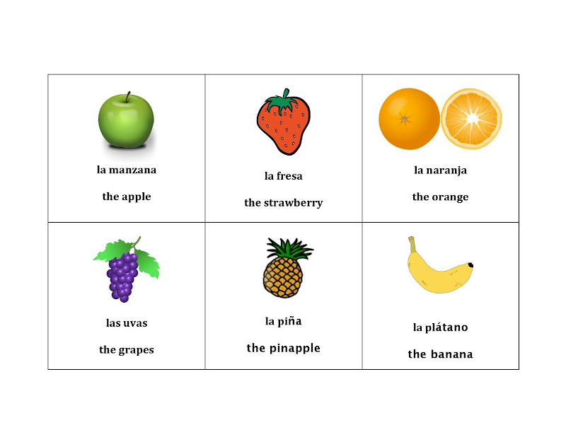 Healthy Food Theme- Fruit Printables. title=