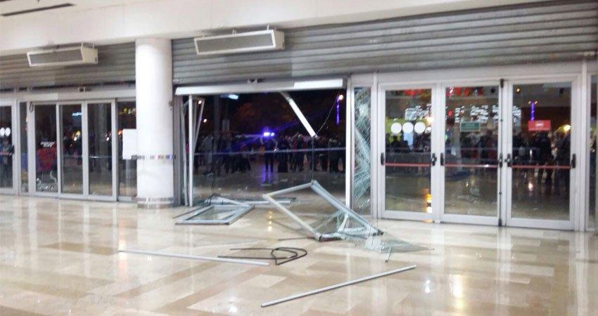 El vigilante de seguridad las im genes del atraco y fuga - Centro comercial sant boi ...