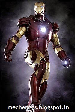 Iron Man example of 3d printing