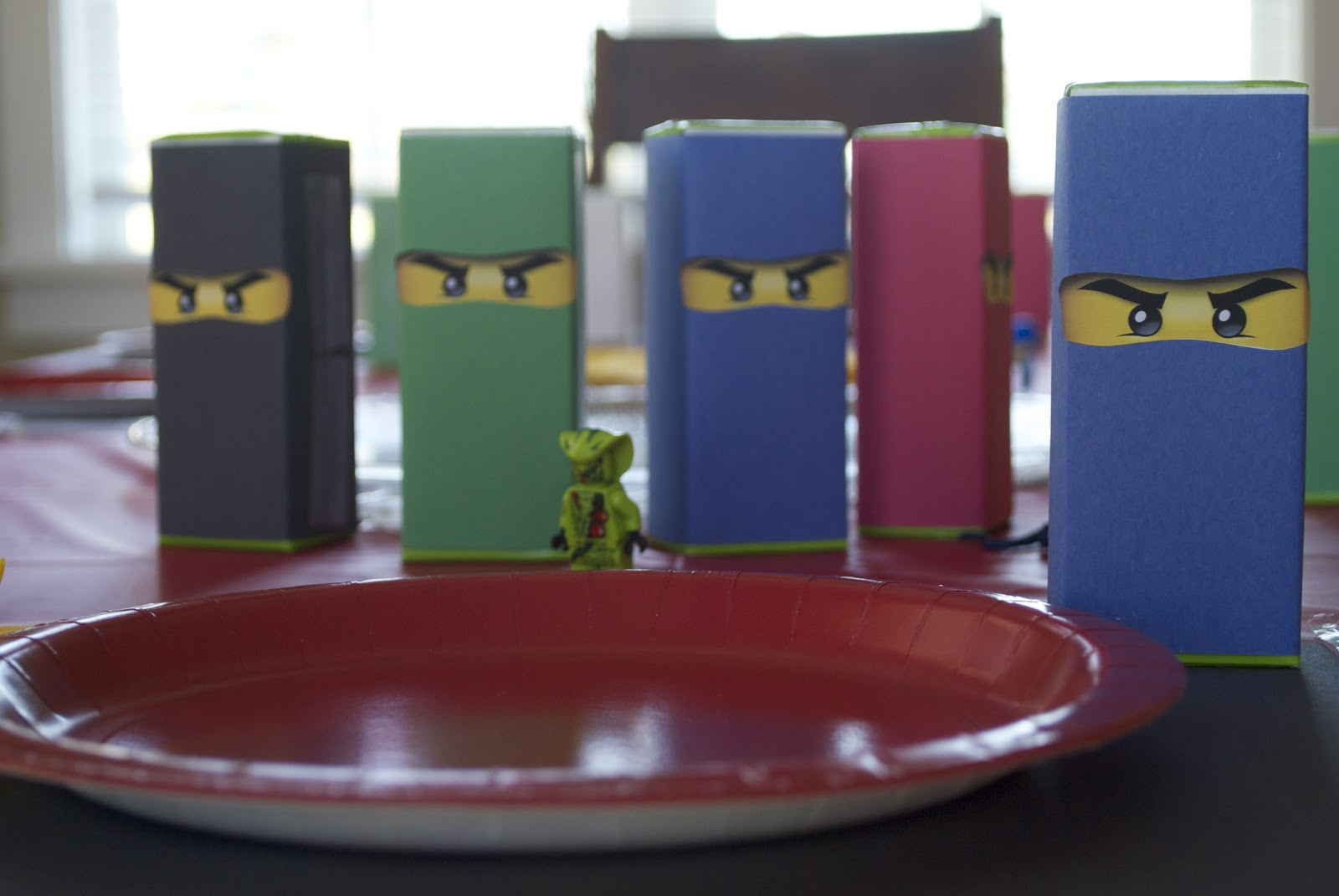 How To Make Origami Ninjago  I Wrapped Juice Boxes In The Same Ninjago  Colored Construction