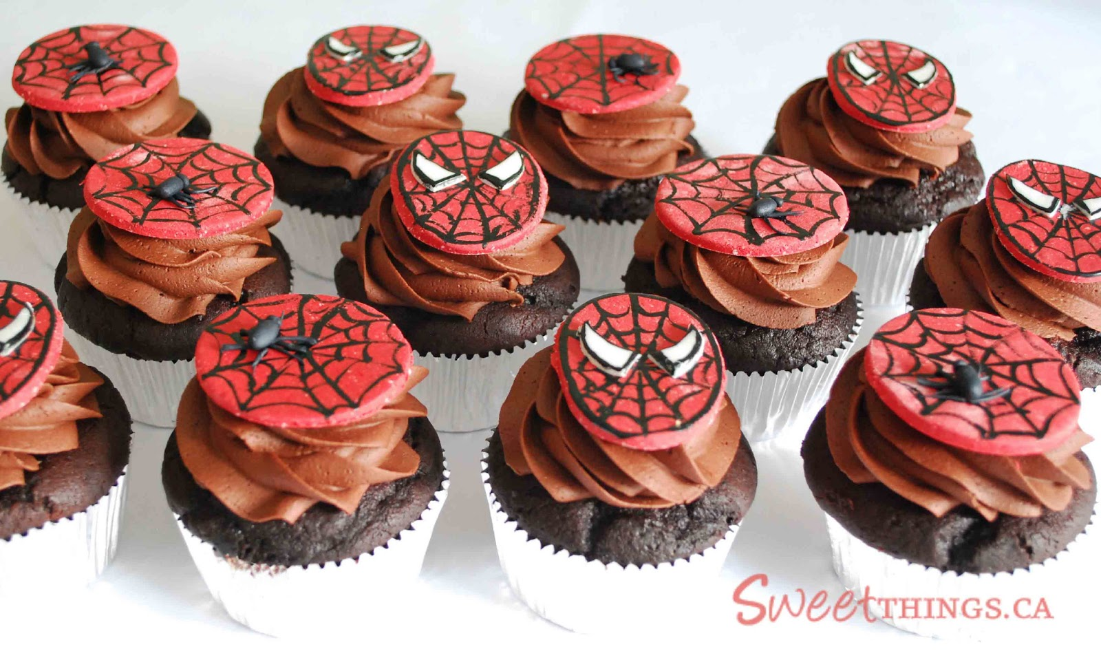 Spiderman Cupcake Images : SweetThings: February 2013