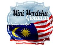 Mini Merdeka Giveaway