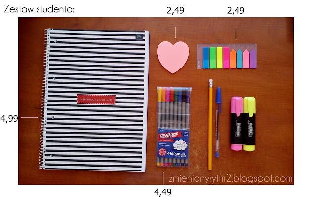 Organizacja na studiach + DIY zeszyt na kilka przedmiotów