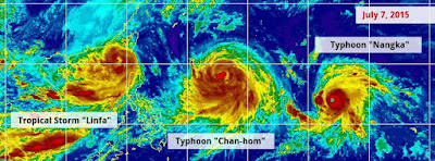 """CHAN-HOM"" PODRIA CONVERTIRSE EN UN SUPER TIFON CAMINO A JAPON Y CHINA"