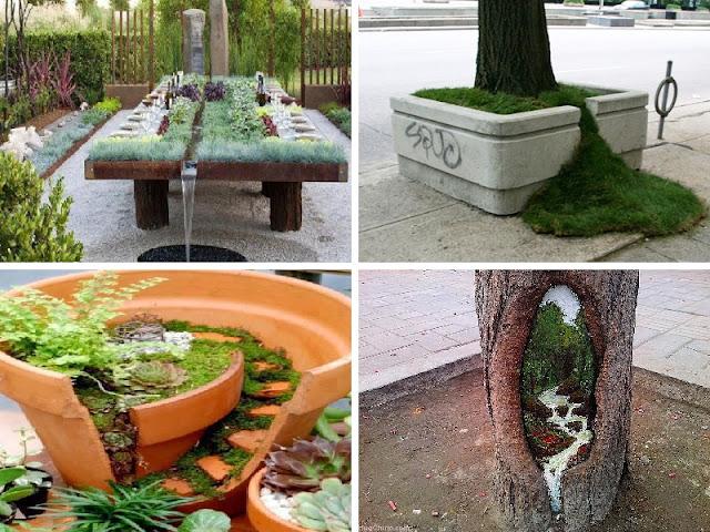 fotos de jardim quintal:Idéias inspiradoras para o seu jardim/quintal/varanda [28 Fotos