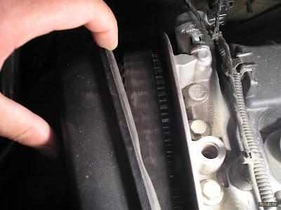 проверка износа ремня ГРМ Форд
