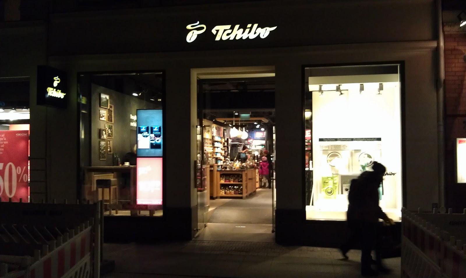 kaffee und gut die neue tchibo filiale in l beck mein. Black Bedroom Furniture Sets. Home Design Ideas