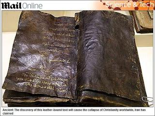"""اضحوكة كتاب """"برنابا"""" ادعاء باكتشاف مخطوطة """"مسيحية"""" تبشر بنبوة """"محمد"""""""