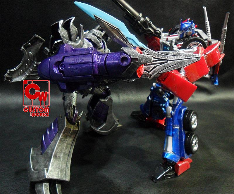 Transformers Prime vs Megatron - Bing images