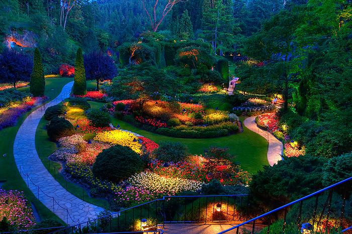 Alabama Rose and Flower Garden from a NonGreen Thumb Lighting