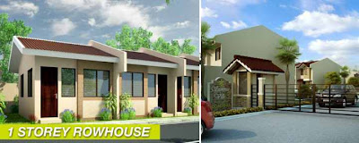 Affordable One-Storey Townhouse in Cordova Mactan House and Lot For Sale 480K
