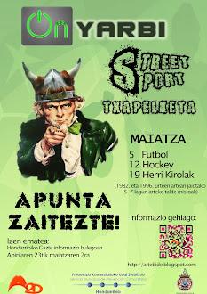 Street Sport Txapelketa!!!