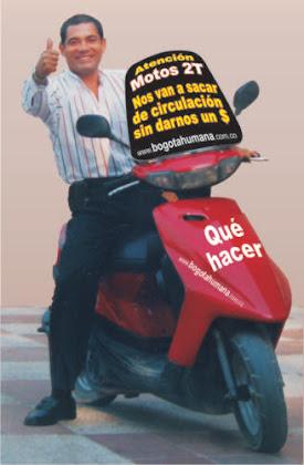 Para apoyar a motociclistas 2T únete a nuestro grupo en Facebook