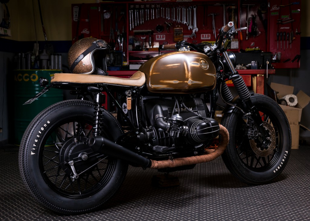Extrêmement BMW R65 by Jerikan ~ Return of the Cafe Racers VD85