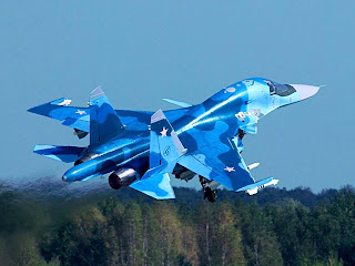 SU 34 Chinese and Russian Fighter Air craft