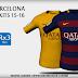 FC Barcelona Nike Kits 15/16