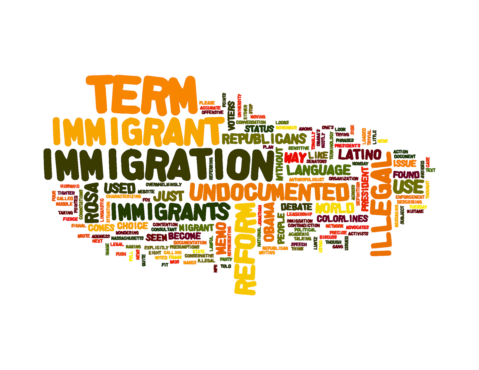 Immigration Terms Can Be Used To Disparage And To Be Deliberately  Misleading. In 2011, The American Immigration Council Debated The Definition  Of The Term U201c ...