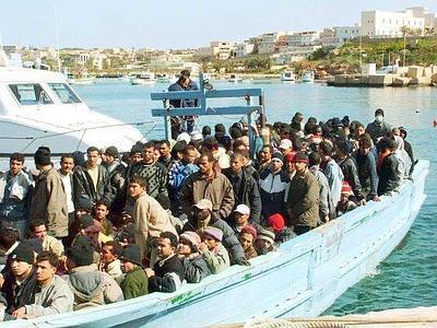Lampedusa refugees #27