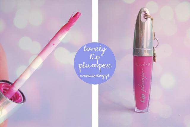błyszczyk lovely lip plumper