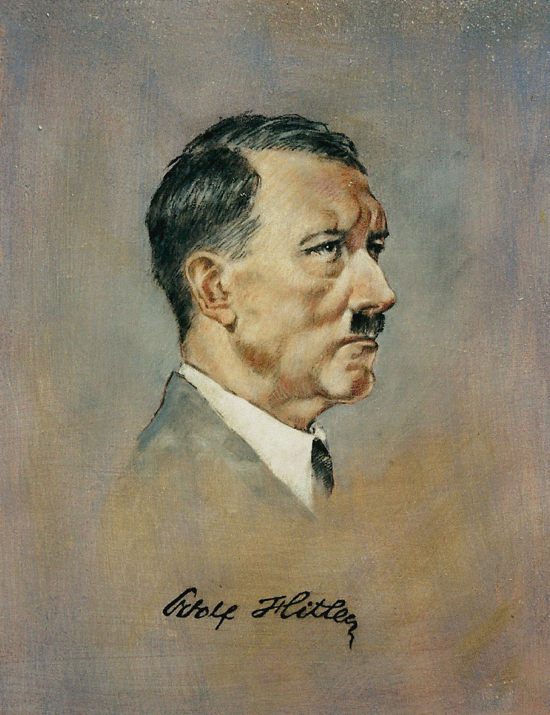 adolph hitler portrait of a monster essay