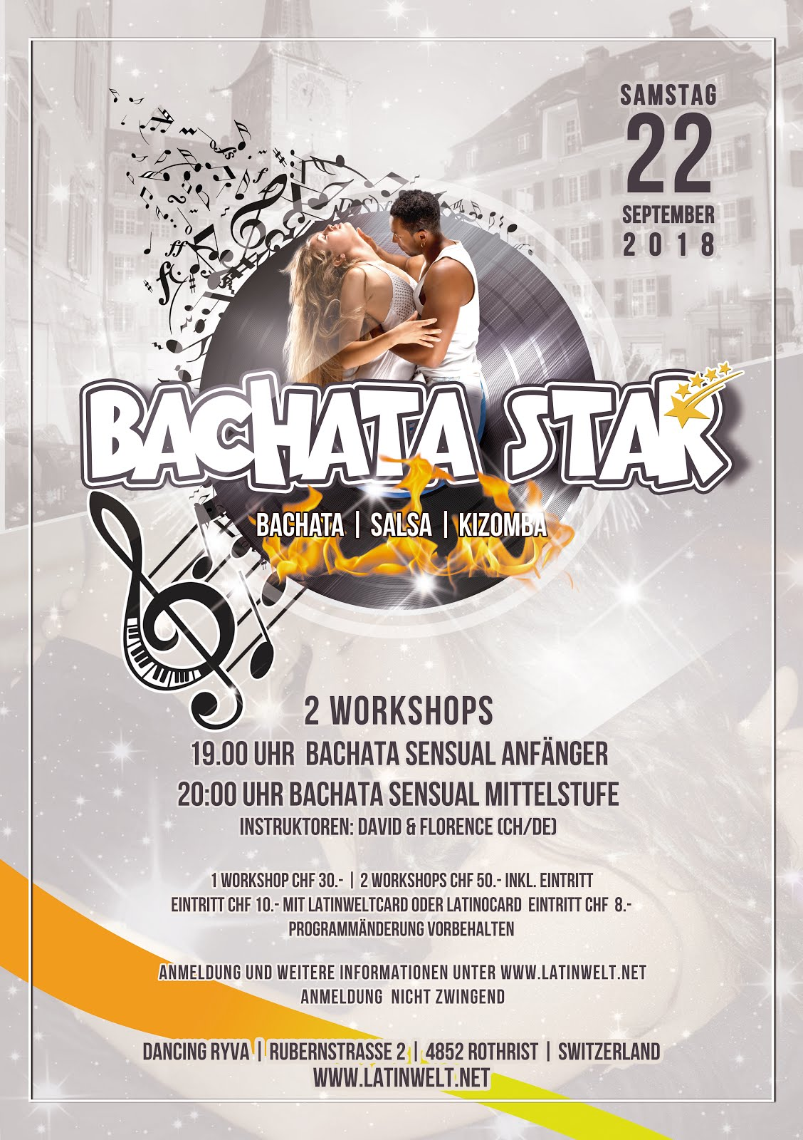 BACHATA STAR 22. SEPTEMBER