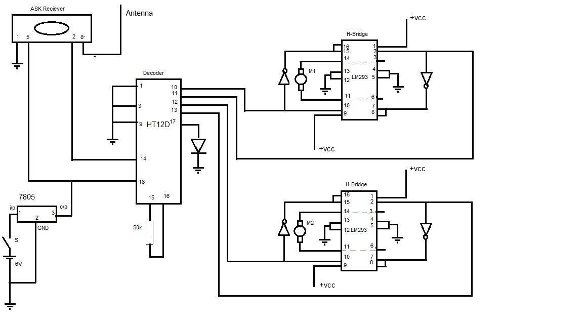 electronics projects  mini spy robot