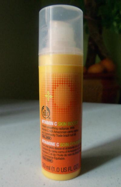 the body shop vitamin c skin boost