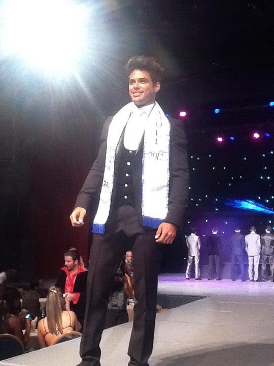 Mister Universe Model 2012 Dominican Republic Erick Jimenez Sabater