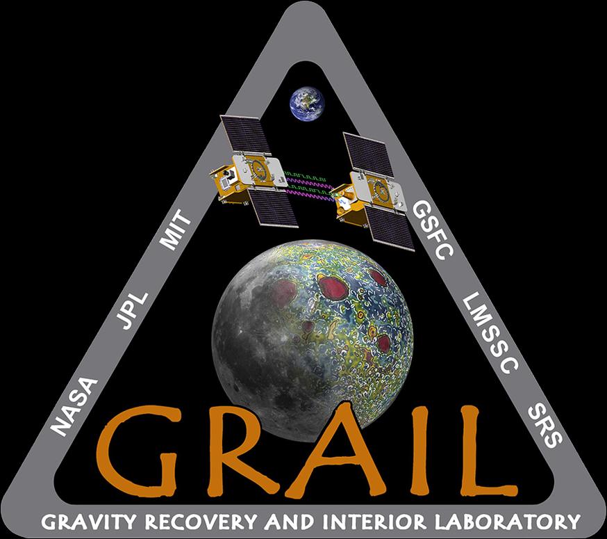 Logotipo de la misión GRAIL