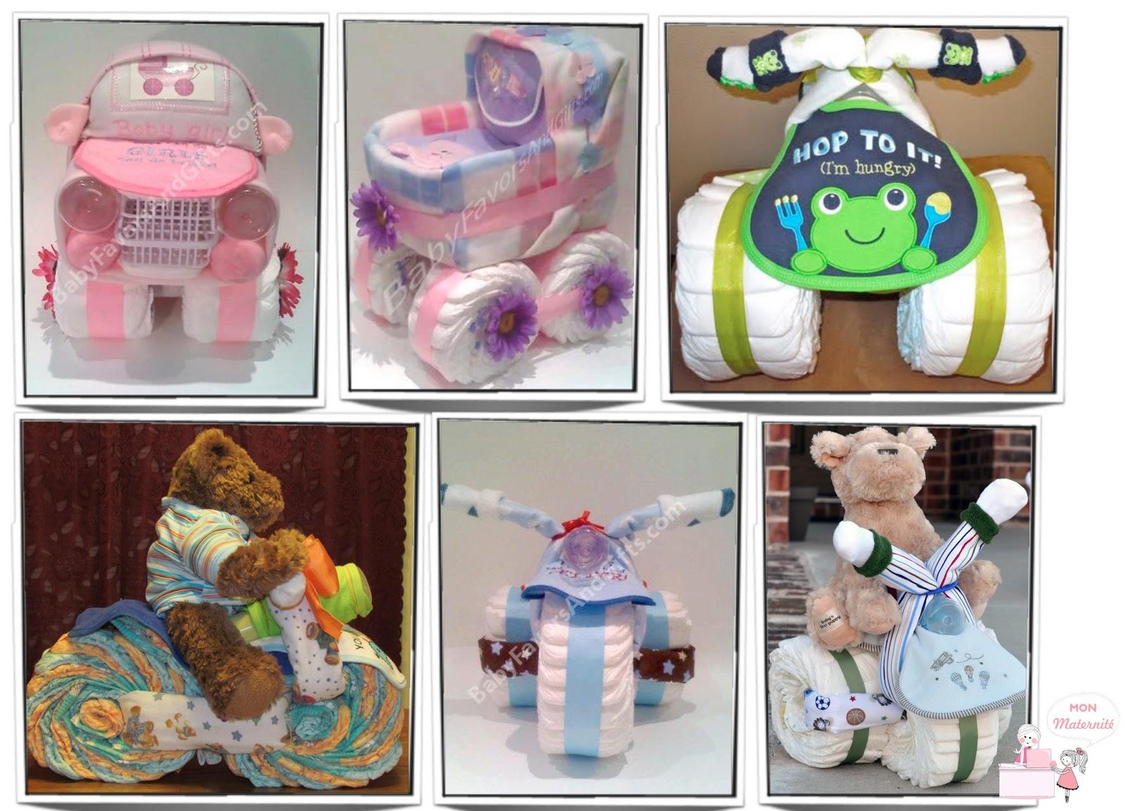 bolos de fralda diaper cake para chá de fralda blog Mamãe de Salto ==> imagens retiradas da internet