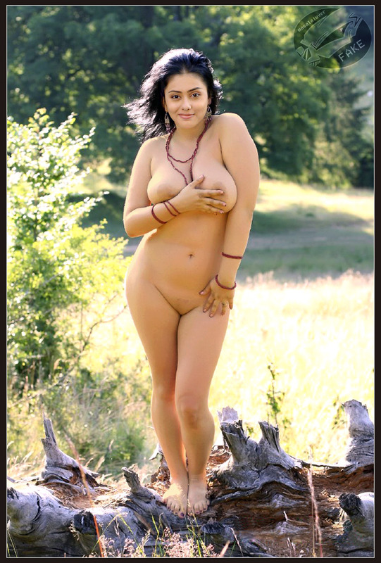 Namitha Nude At Forest Fake
