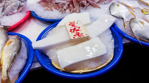 像杏仁豆腐的曼波魚肉
