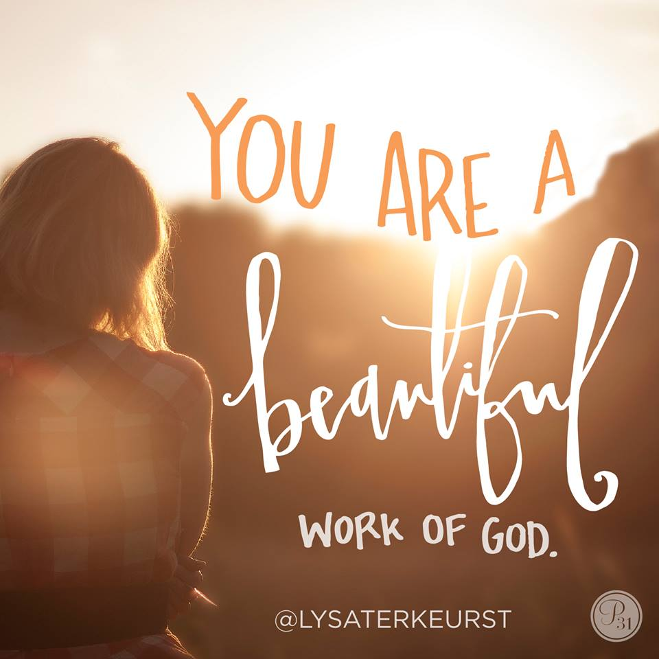 Beautiful Work of God - Yes You Are!!