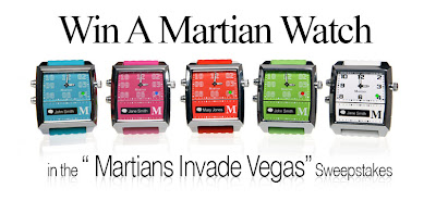 Win a Martian Watch