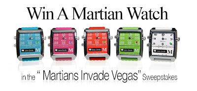 Win a Martian Watch