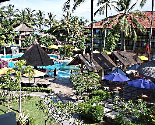 The Bali dynasty Resort Garden