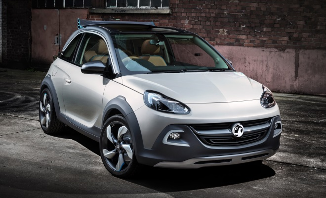 Vauxhall Adam Rocks front view