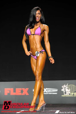Michelle Tarajcak Female Muscle Bodybuilding Blog Competition